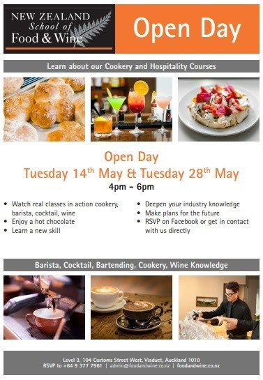 Art Thou Cakes-New Zealand School of Food and Wine 2019 Open Day Brochure