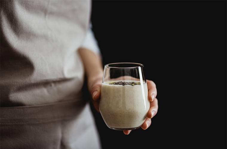 Yogurt And Flax Seed