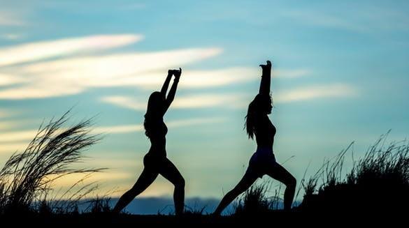posture of two ladies