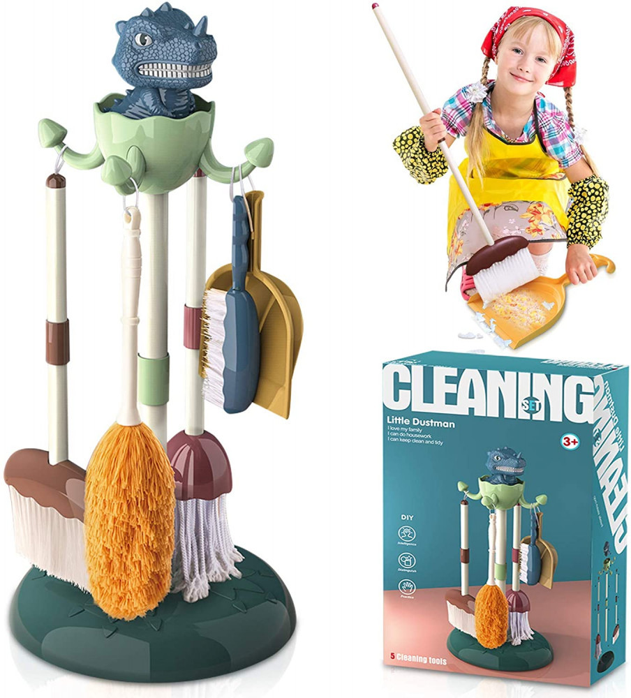 Dinosaur Cleaning Station
