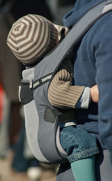 How to Exercise with a Baby - Outdoors - Baby carrier