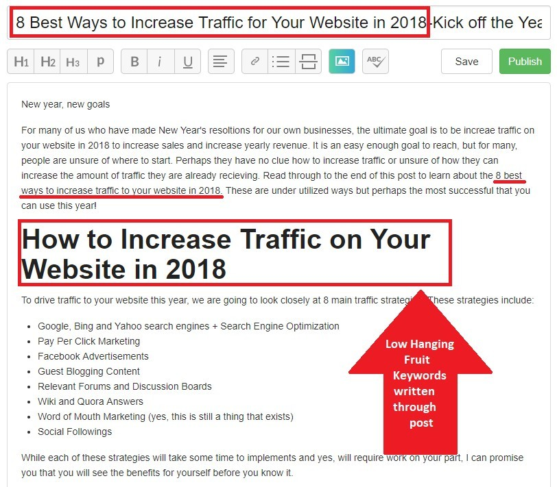 best ways to get traffic to your website