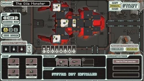 FTL: Faster Than Light Mantis Cruiser - The Gila Monster
