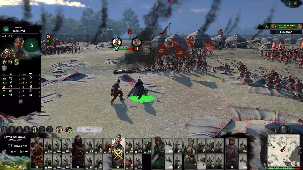 Total War Three Kingdoms Gameplay