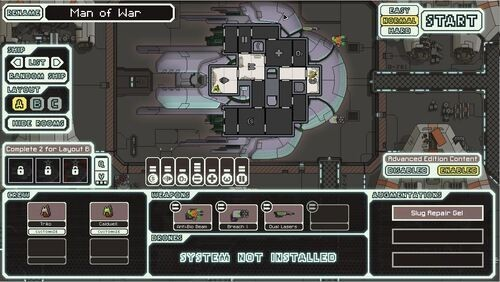 FTL: Faster Than Light Slug Cruiser