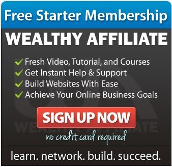 Wealthy Affiliate Sign Up Box