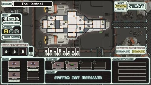 FTL Kestrel Ship