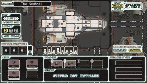 FTL Kestrel Ship