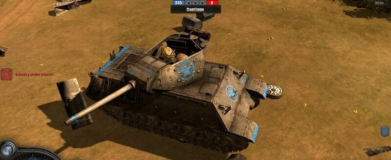 Company Of heroes Tank