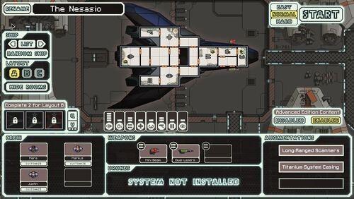 FTL: Faster Than Light Stealth Cruiser