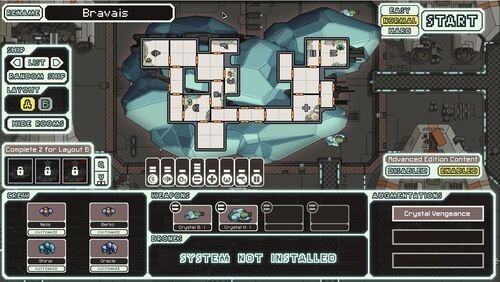 FTL: Faster Than Light Crystal Cruiser - Bravais
