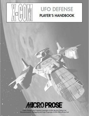 X-COM UFO Defense Manual
