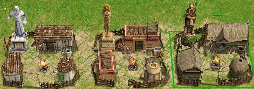 Age Of Mythology Town Centers