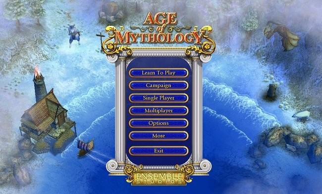 Age Of Mythology Main Menu
