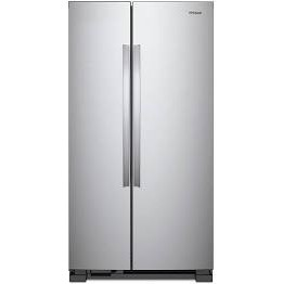 Side by side refrigerator.