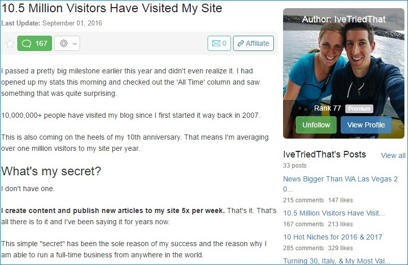 10.5 million visitors
