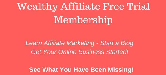 Wealthy Affiliate Trial Account