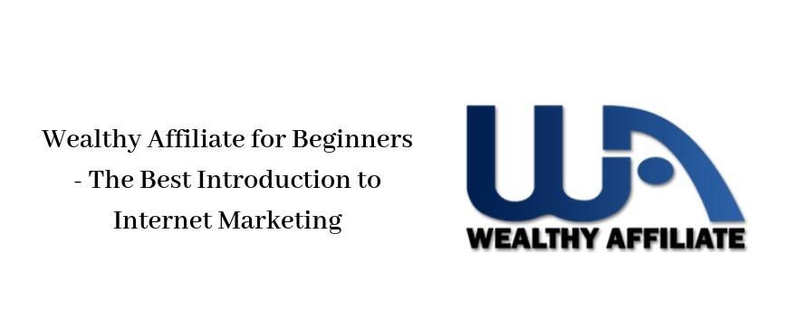 Wealthy Affiliate Beginners