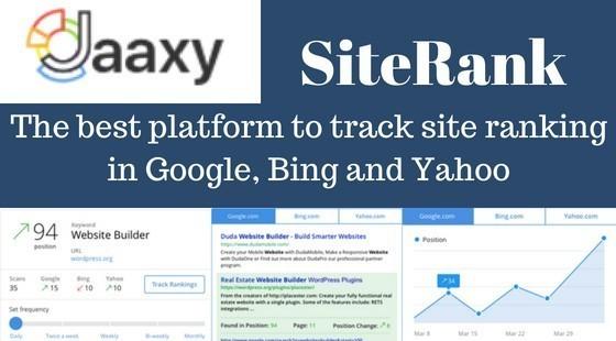 Jaaxy Site Rank