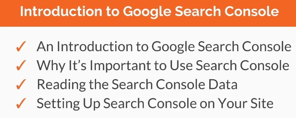 introduction to Google seach console