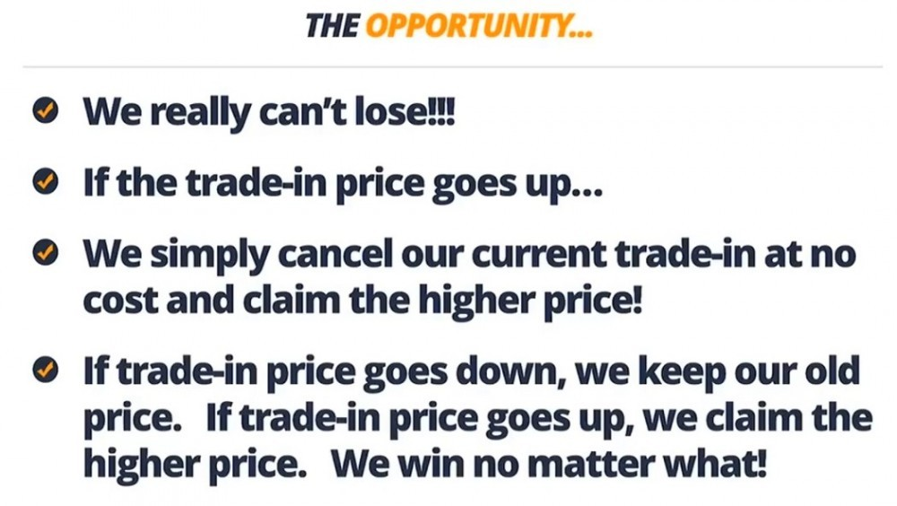 how not to lose when trade in price goes up or down