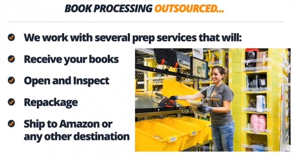 Book processing center