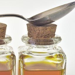Tincture bottle and spoon image