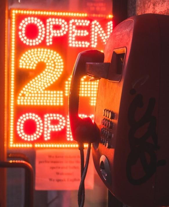 Phone Open 24/7