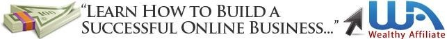 WA Banner 'Learn how to build a successful online business
