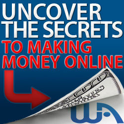 Advert uncover the secrets to making money online