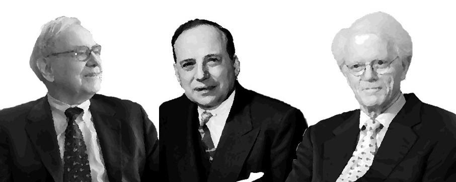 Warren Buffet Benjamin Graham Peter Lynch