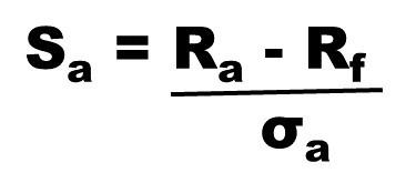 The Sharpe ratio