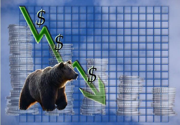 Bear market decline