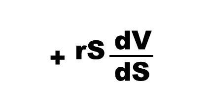 Black Scholes equation third part