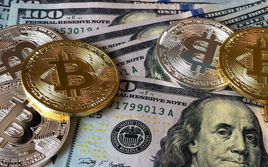 Crypto and fiat currencies