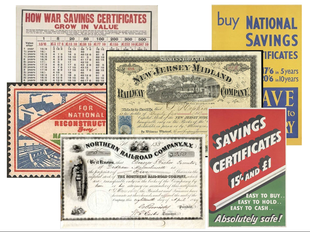 Savings certificate