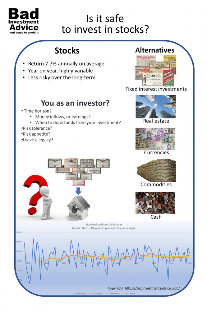 Is it safe to invest in stocks summary