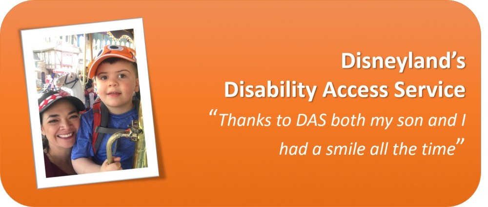 Disneyland Disable Access Service