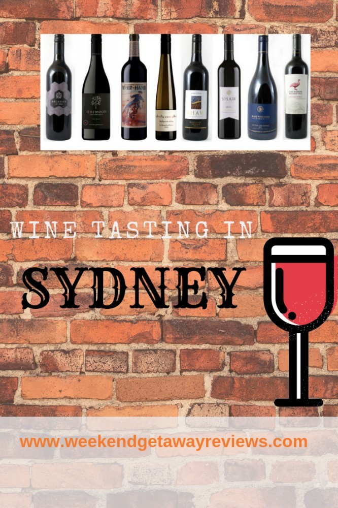 Wine Tasting in Sydney
