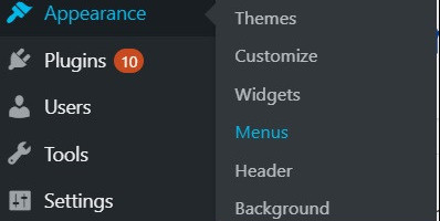 Where Can I Change the Menu in WordPress
