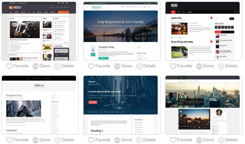 Website Designs Example