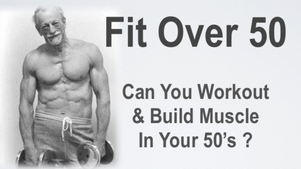 You can build muscle past 50