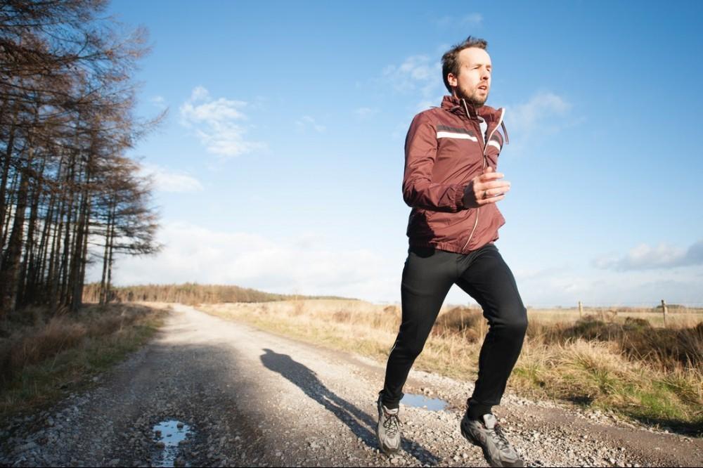 relaxed run