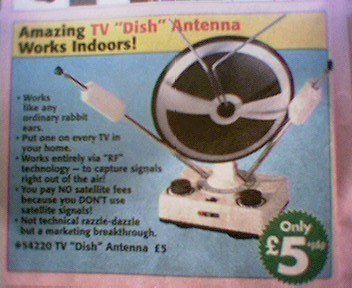 RF UHF Dish