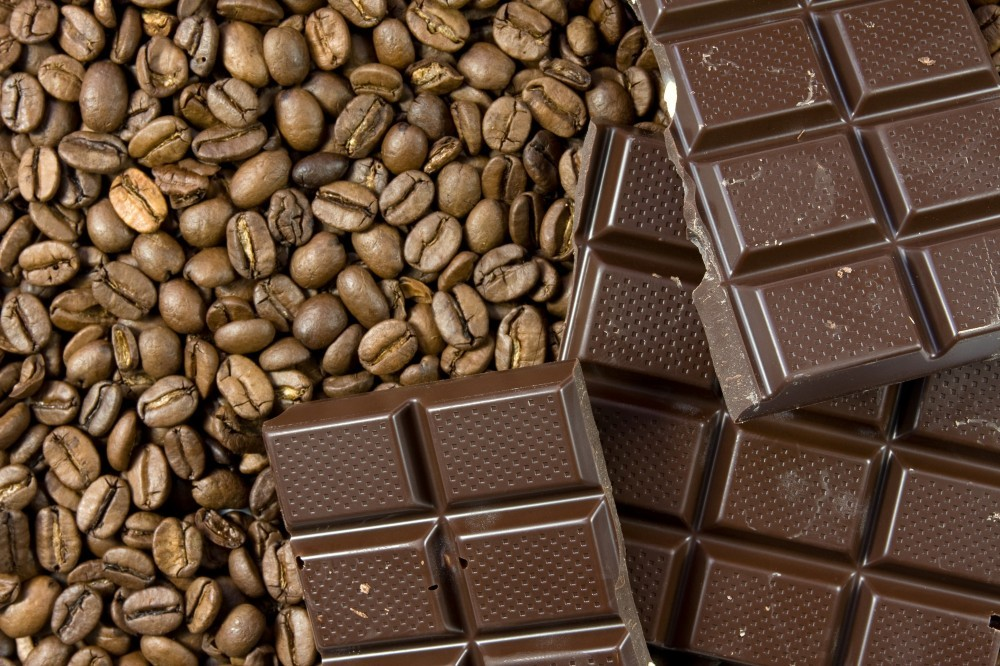 Coffee and Chocolate for Chocolate Flavored Coffee