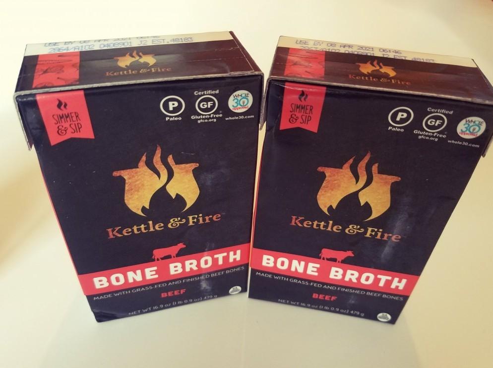 Kettle & Fire. Best Brand Bone Broth.