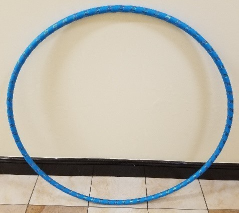 Weighted Hula Hoop Review. Finished Hoop