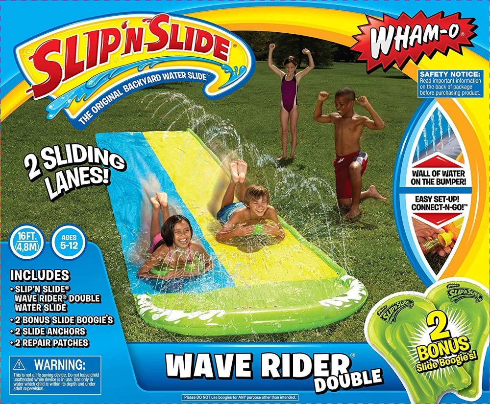 Outdoor water toys for kids-slip and slides-toyfultykes.com