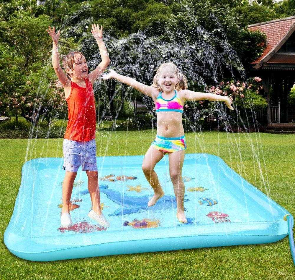 Outdoor water toys for kids-splash pad-toyfultykes.com