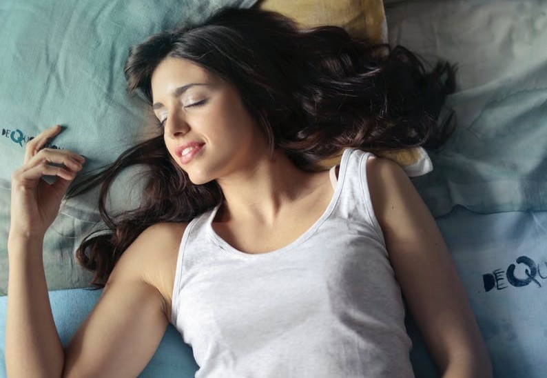 sound sleep for good skin